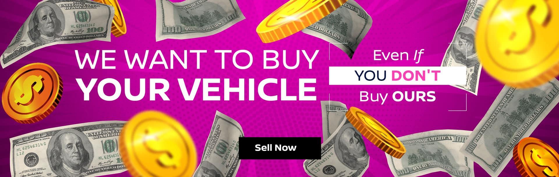 Sell Us Your Vehicle in Spokane, WA