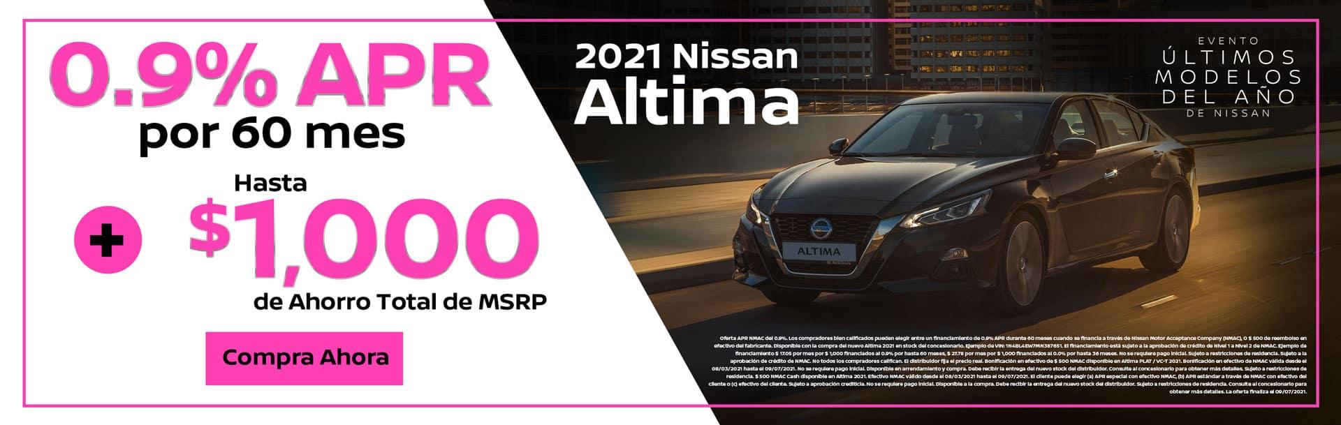 Oferta de 2021 Nissan Altima en Spokane, WA