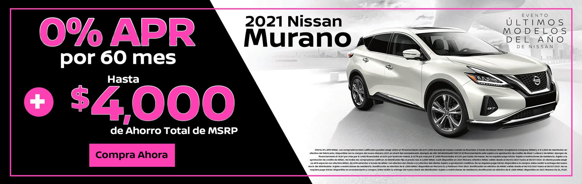 Oferta de 2021 Nissan Murano Platinum en Spokane, WA