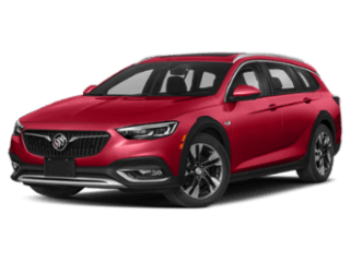 2019 Buick Regal TourX angled