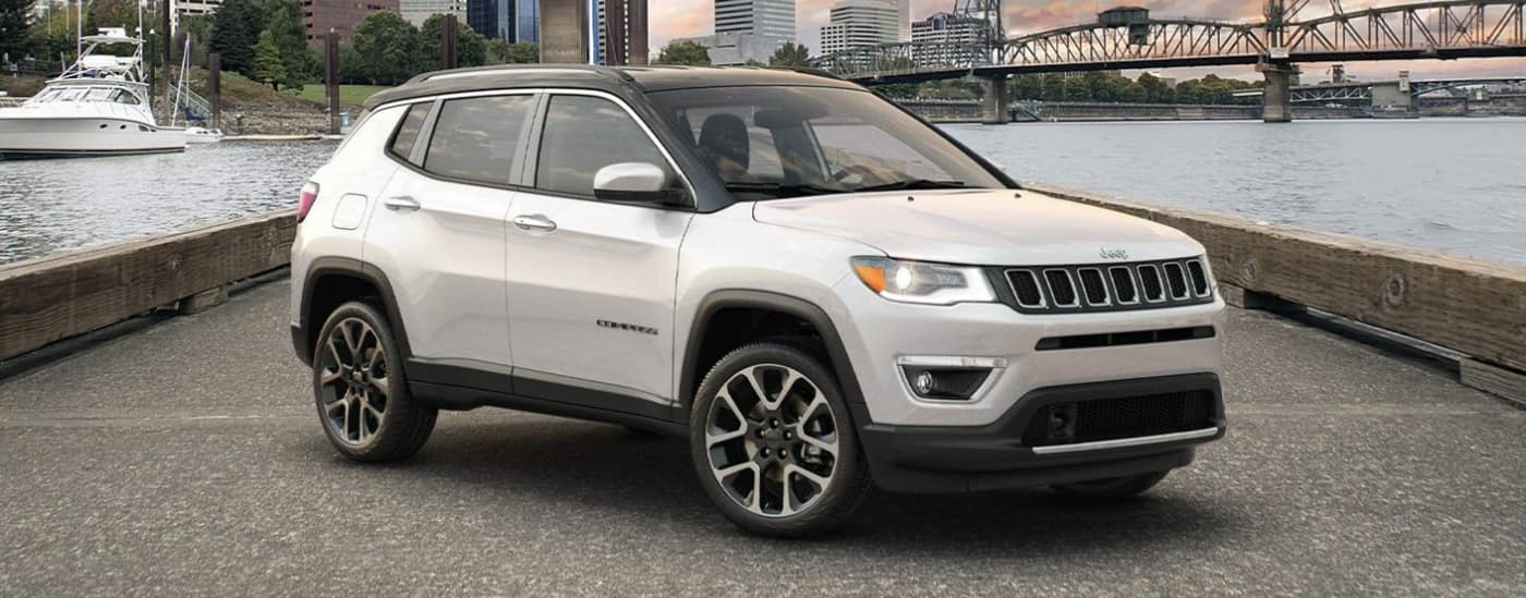 2020 Jeep Compass by water