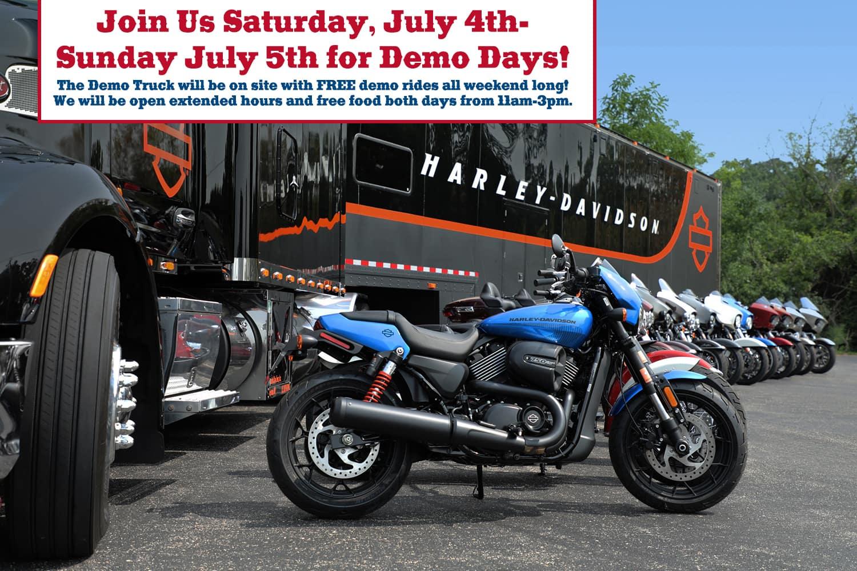 Demo Days Fort Bragg Harley-Davidson