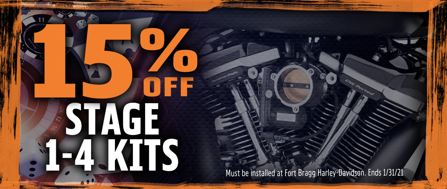 15% off Stage 1-4 Kits
