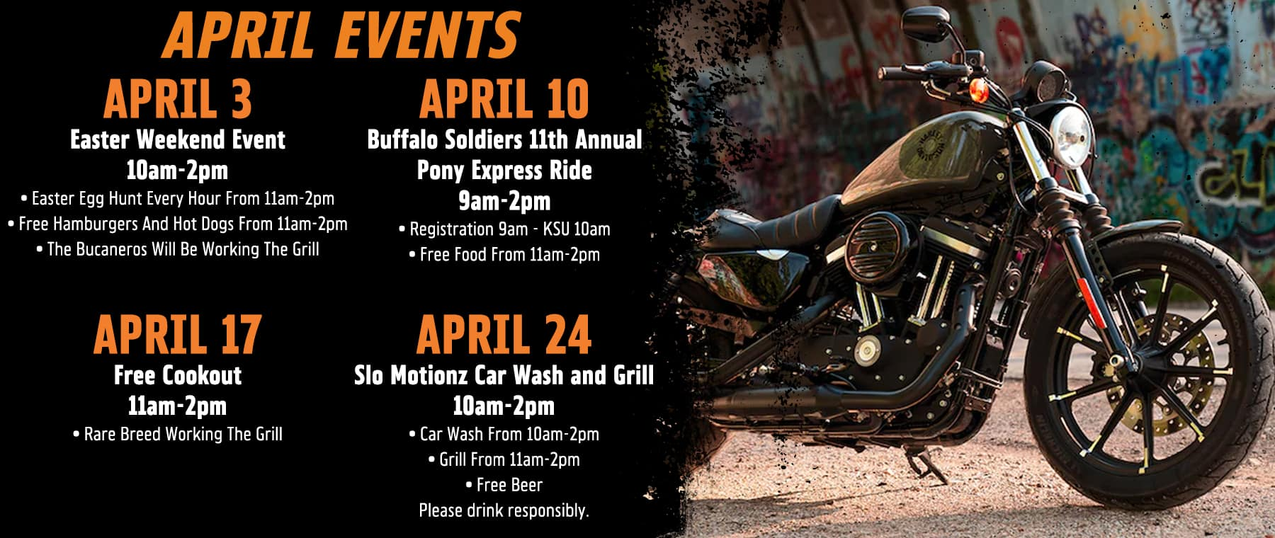 April Events at Fort Bragg HD