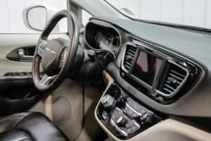Wheelchair accessible Chrysler Pacifica interior