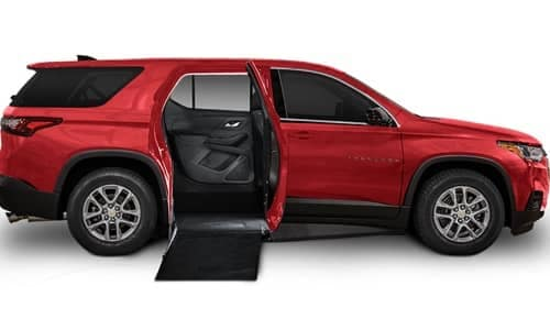 Chevy Traverse - Side Entry