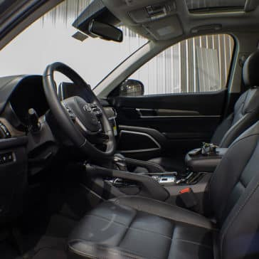 Interior Kia Telluride Wheelchair Accessible Front Seat