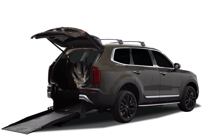 2020 Kia Telluride with wheelchair ramp