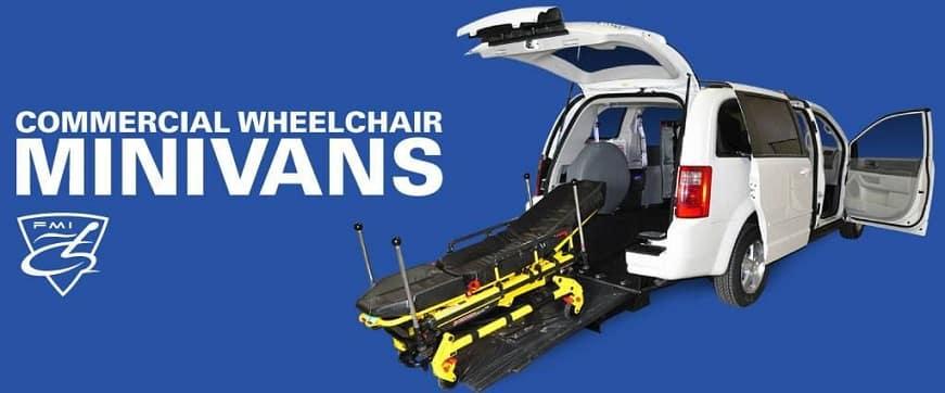 commercial wheelchair minivans for paratransit, ambulette, NEMT