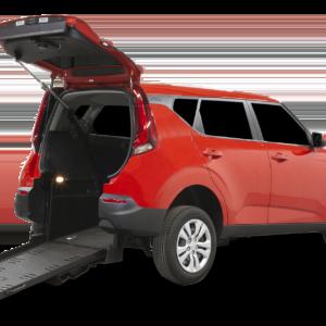 2020 Kia Soul Red Rear Entry