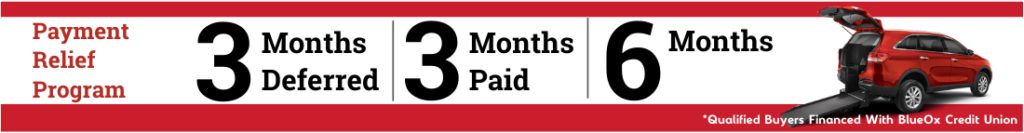 6 months 0 payments Wheelchair Vehicles