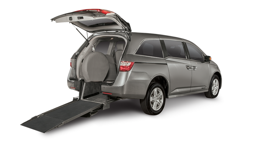 Honda Odyssey Wheelchair Rear Entry