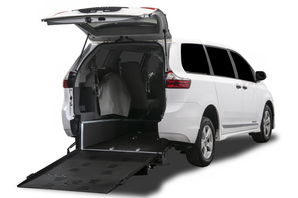 Toyota Sienna Superwide Rear Ramp