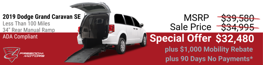 Commercial Wheelchair Accessible Vans