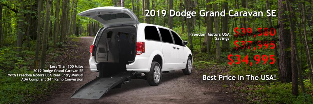 2019 Dodge Grand Caravan for Sale $34,995