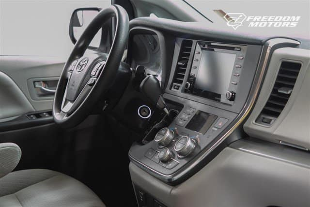 Toyota Sienna interior dashboard