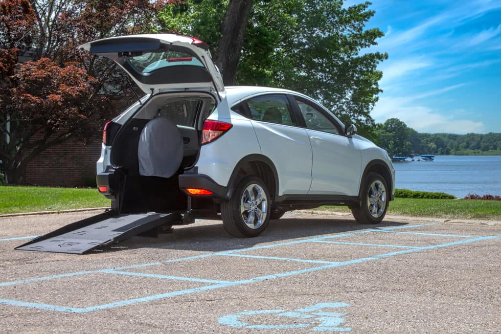 Honda HR-V Rear Entry Wheelchair Accessible