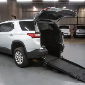 Silver Traverse with extended wheelchair accessible ramp