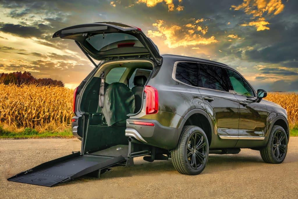 Kia Telluride Rear Entry Wheelchair Accessible