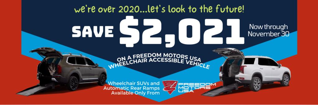 Save $2021 Now Through November 30