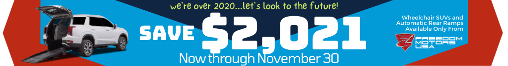 Save $2021 Now Through November 30
