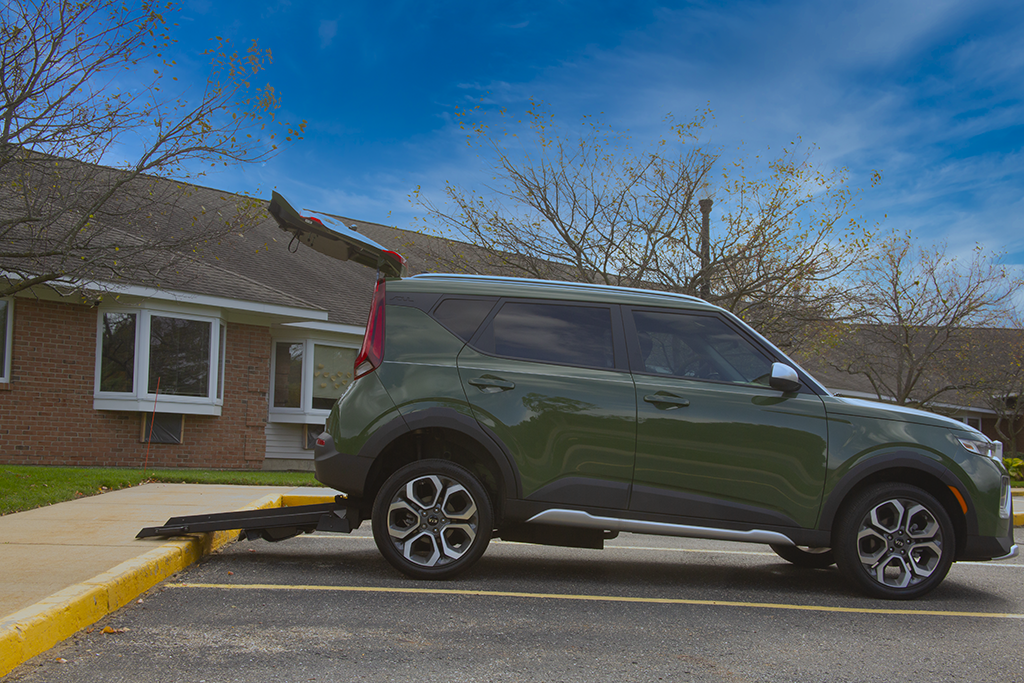 Wheelchair Accessible Kia Soul - Rear Entry Ramp