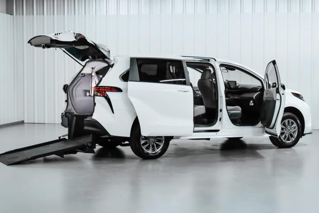 Wheelchair Accessible Hybrid Toyota Sienna conversion