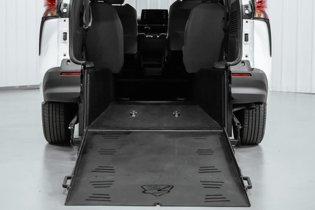 Wheelchair Accessible Toyota Sienna Hybrid Superwide Ramp