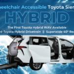 Toyota Sienna Hybrid Wheelchair Van