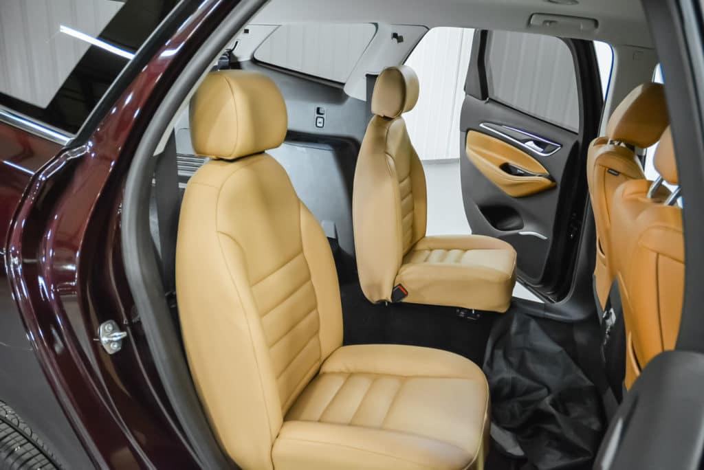 Beige Deluxe Buckets Seats