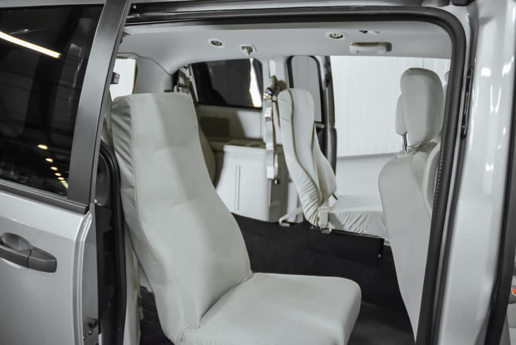 Freedman Buckets Seating for Accessible Vehicles