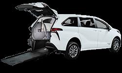 Wheelchair Accessible Hybrid Vehicle Toyota Sienna
