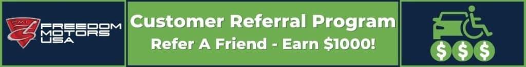 Freedom Motors USA Customer Referral Program