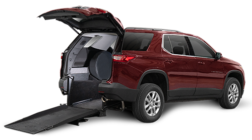 Wheelchair Accessible Chevy Traverse
