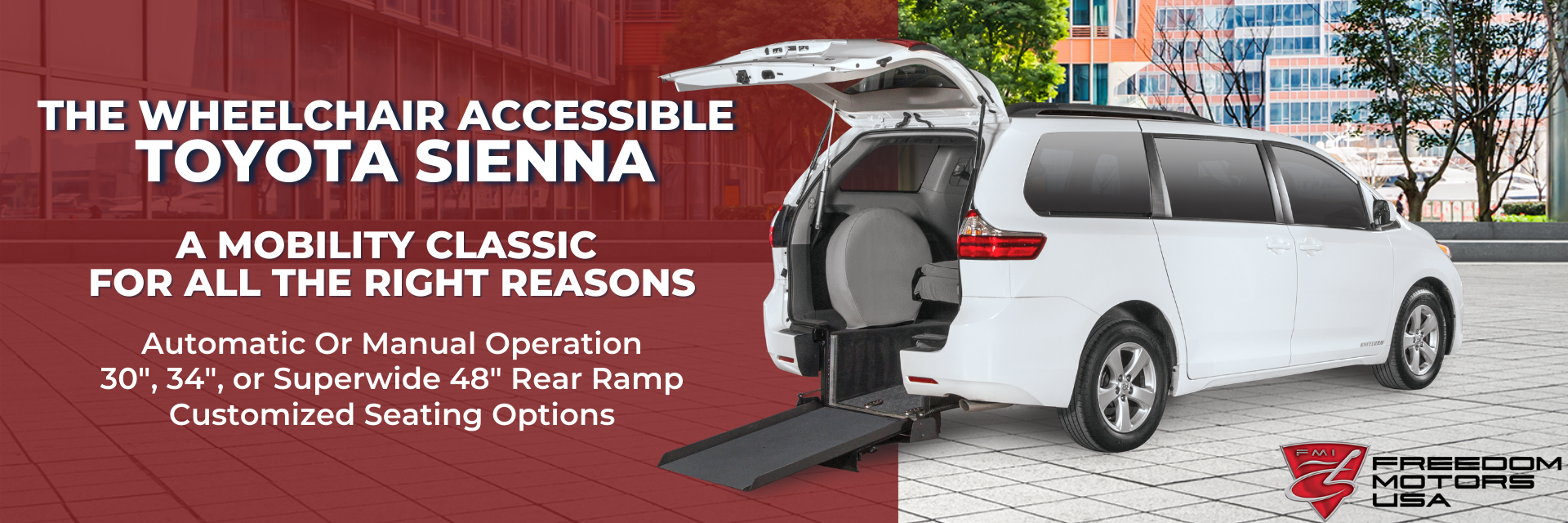 TOYOTA SIENNA The Wheelchair Accessible Classic