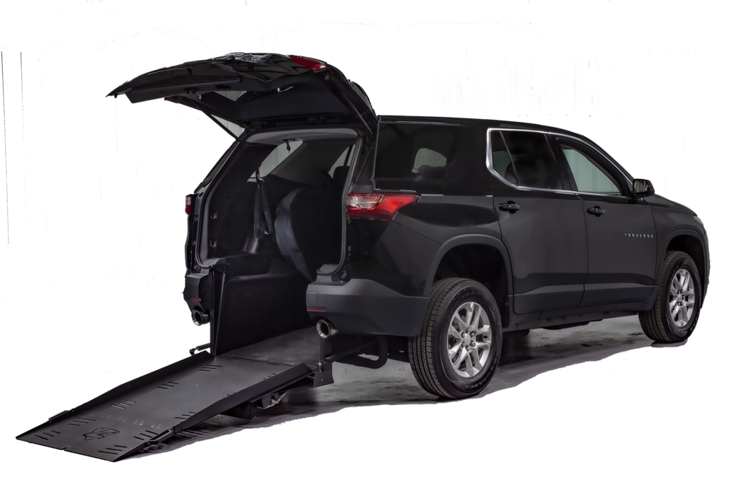 Chevy Traverse - Rear-Entry