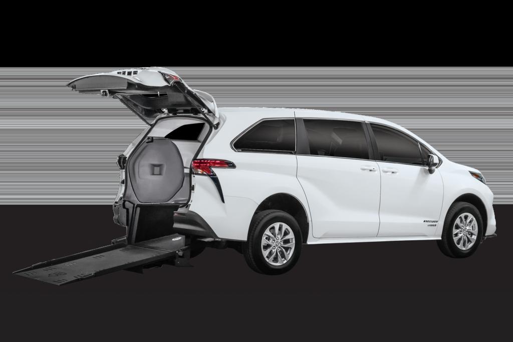 Toyota Sienna Hybrid - Rear Entry