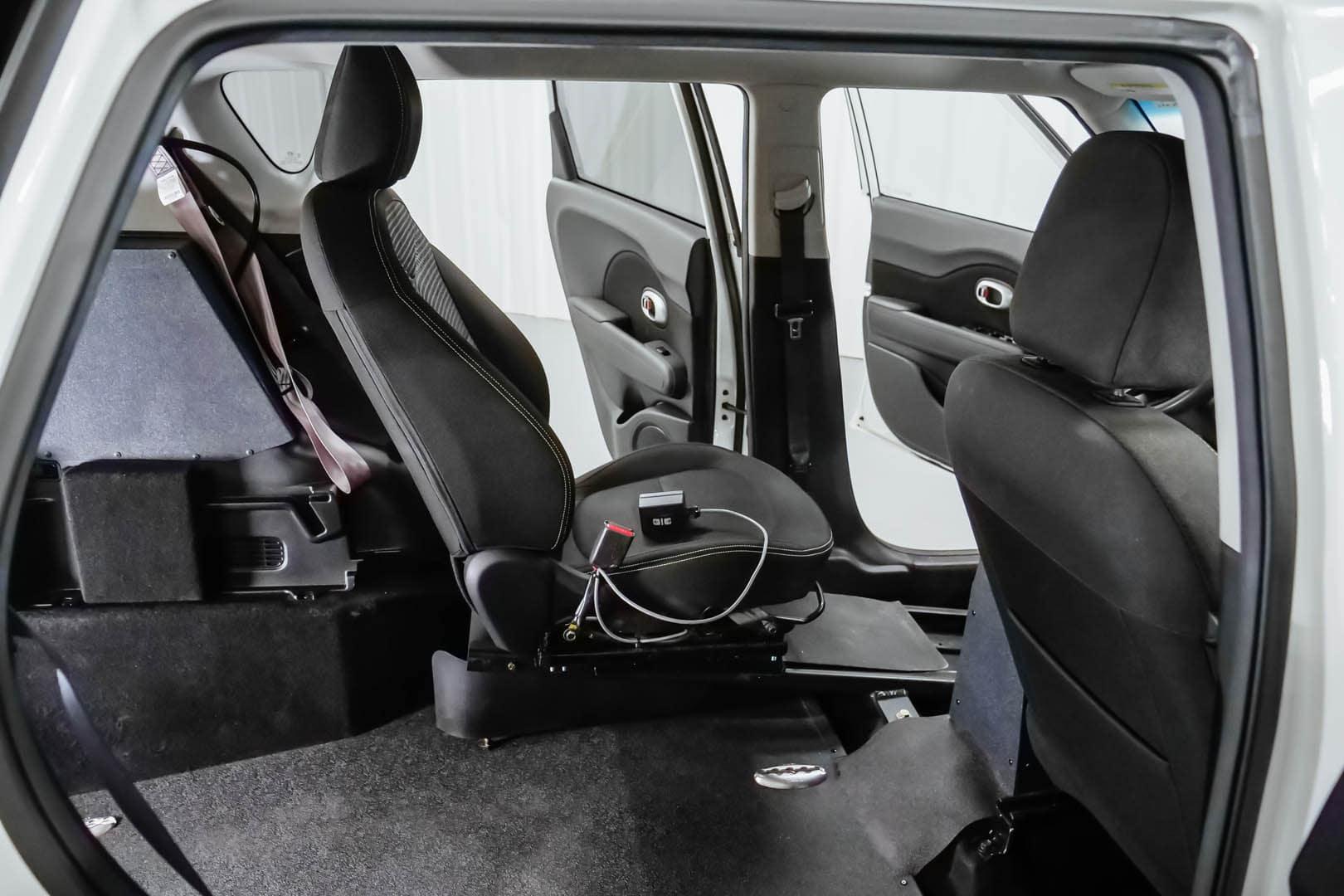 A Kia Soul power transfer seat.