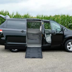 Wheelchair Accessible Toyota Sienna Side-Entry