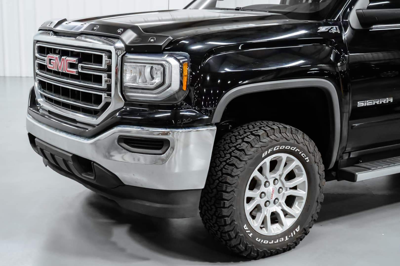 Wheelchair accessible GMC Sierra from Freedom Motors.