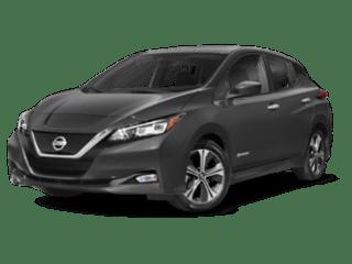 2019 Nissan leaf angled