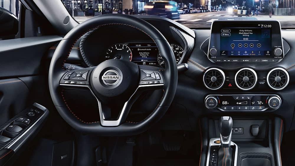 2020 Nissan Sentra Dash