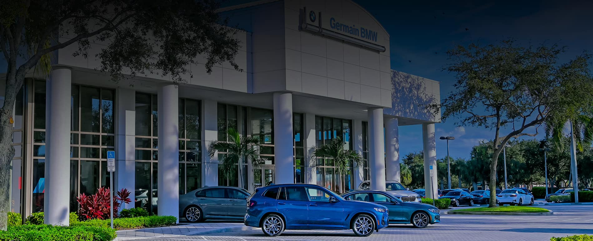 Germain BMW Center.