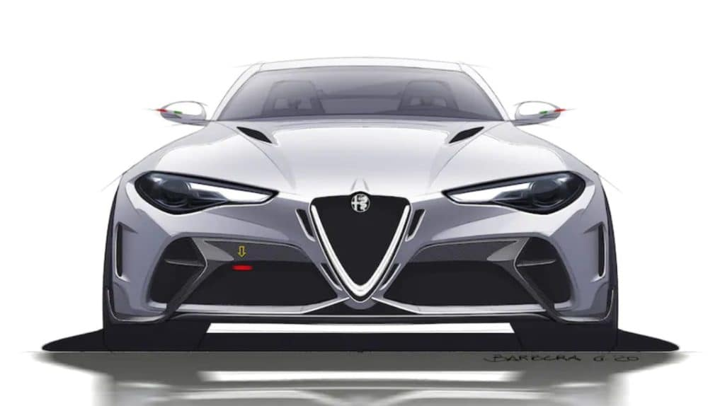 Check Out These Alfa Romeo Giulia GTA Sketches!