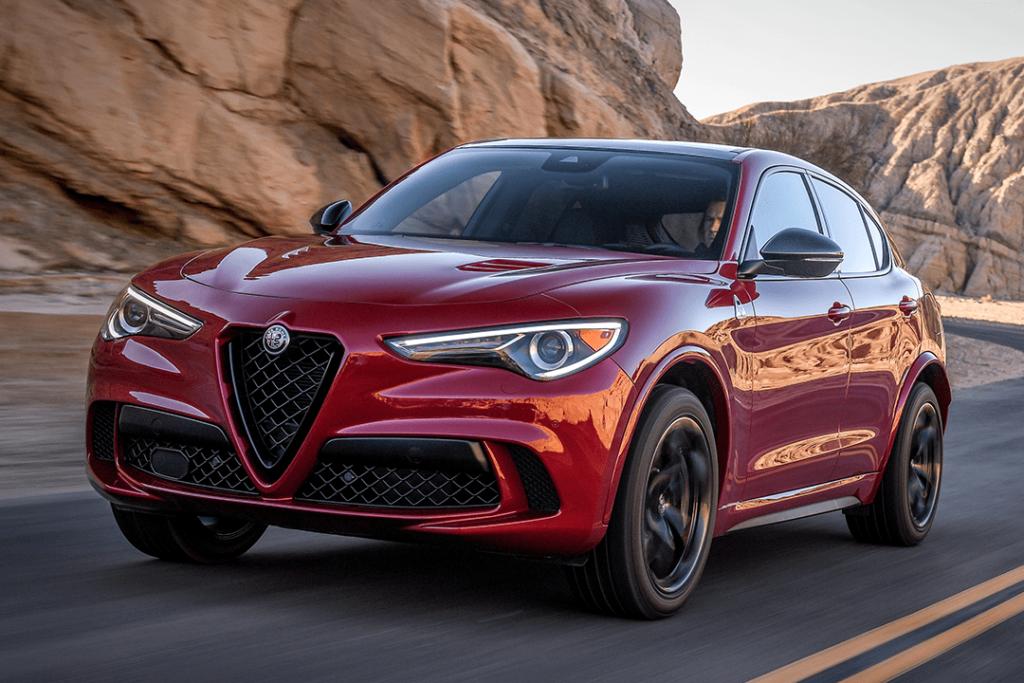 2021 Alfa Romeo Stelvio Ti AWD Zero Down Payment Lease