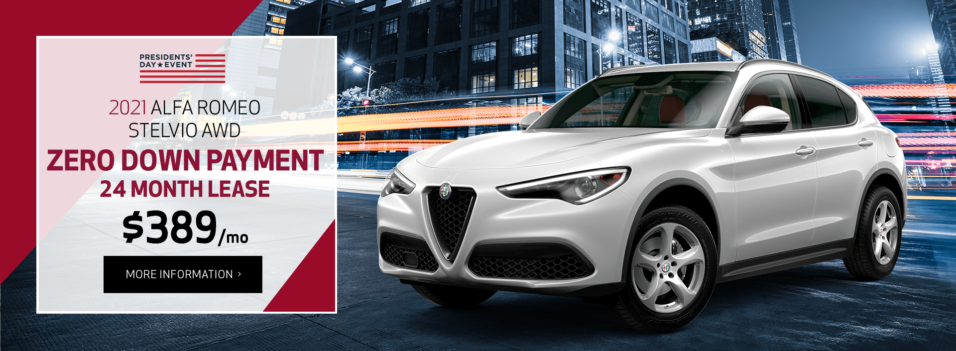 Best Alfa Romeo Lease Offer in New York