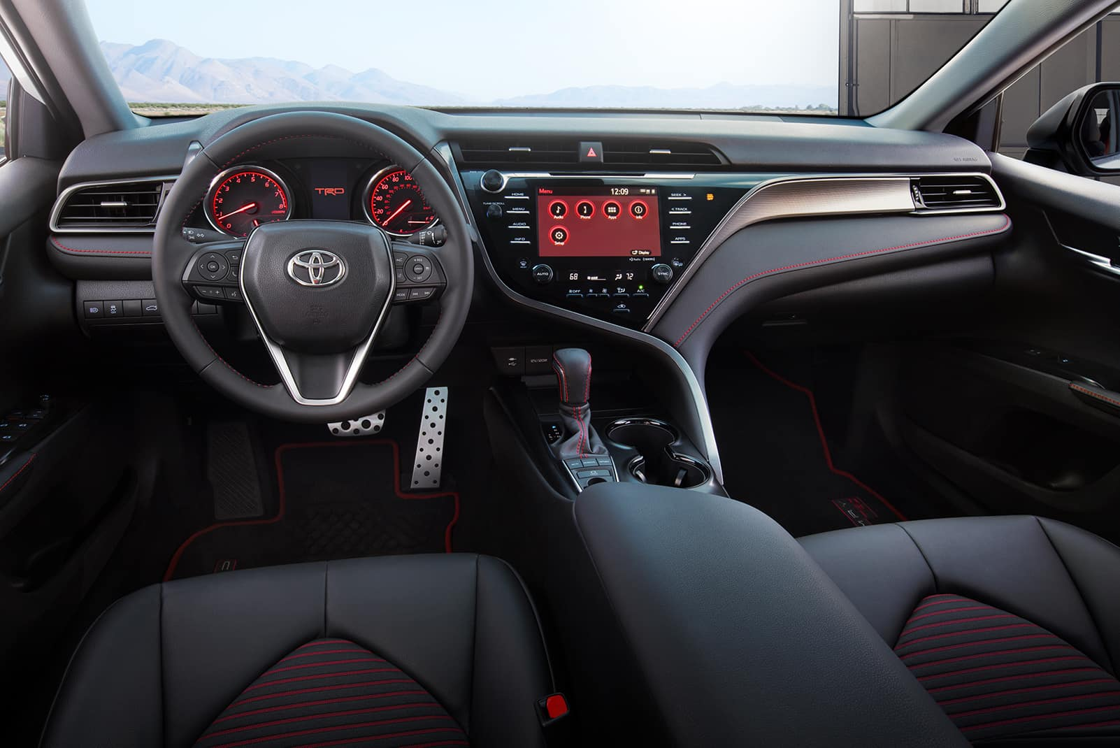 Model Features of the 2020 Toyota Camry at Hanover Toyota | The interior of the 2020 camry