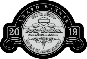 HARLEY DAVIDSON WASHINGTON DC 2019 BAR AND SHIELD MOTORCYCLE AWARD BEST MARYLAND VIRGINIA