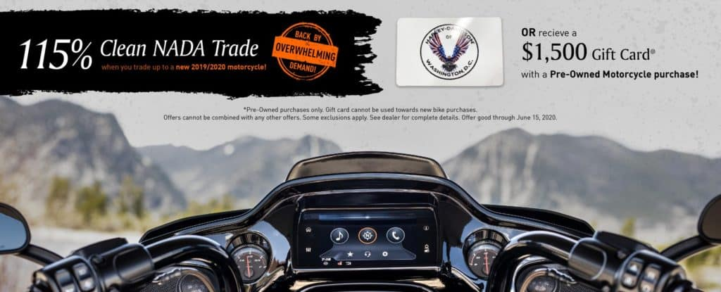 All American, Patriot, Old Glory, Bagger Boyz,  District, Quantico, classic iron, wisconson, Harley, Harley Davidson, Eastern Peformance, 15% of NADA, 1500 gift card harley Davidson washington dc