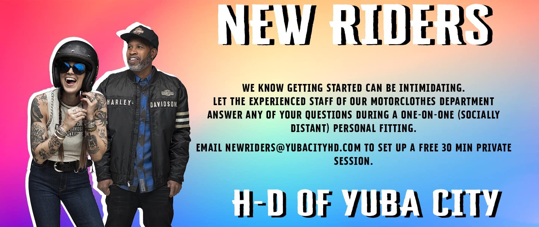 Website New Rider